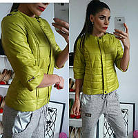 Куртка женская, модель 201, горчичный