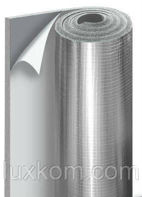 Термоизолятор листовой каучук 8 мм АD Metal H-air Duct (серый с алюминиевым напылением)