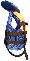 Водный спасательный жилет, страховочный спасательный жилет двухцветный 10-30 кг