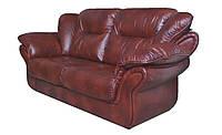 """Стильный кожаный диван """"Ginger"""" (Джинджер) Двухместный (180 см), Не раскладной, натуральная кожа"""