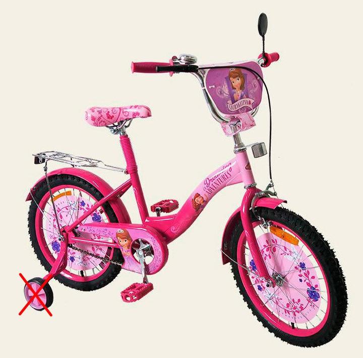 """Велосипед детский Princes Sofi (Принцесса София) 20"""" 172023."""