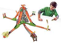 Трек Хот Вилс Вулкан серия Соедини все треки / Hot Wheels Track Builder Volcano