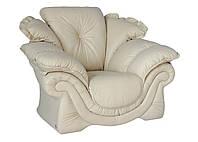 """Элегантный диван """"Loretta"""" (Лоретта). (230 см) Кресло (118 см), Не раскладной, натуральная кожа"""