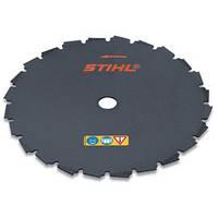 Нож для мотокосы Stihl FS 310 - FS 450  долотообразный 200мм