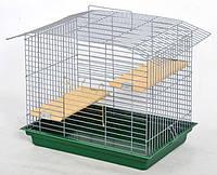 Клетки для шиншилл, грызунов -Лори Шиншилла-60 в цинке (565*400*470см)