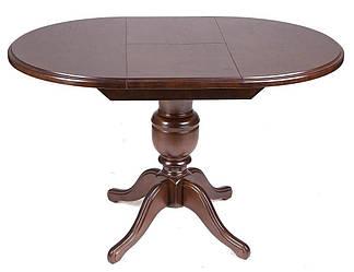 Стол круглый Анжелика орех Ø 90(+42)х78 раскладной