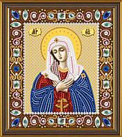 Набор для вышивания бисером Божия Матерь Умиление Д 6022