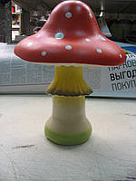 Мухомор двойной 39 см. (керамика)