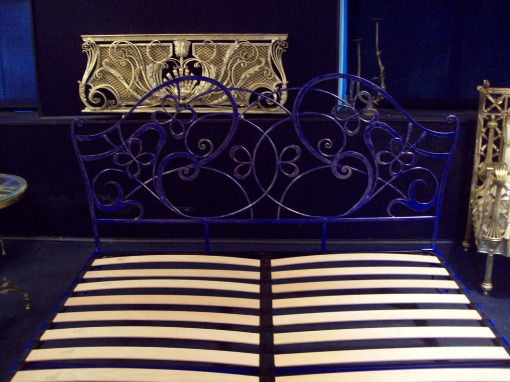 Кованая кровать ИК 045 4