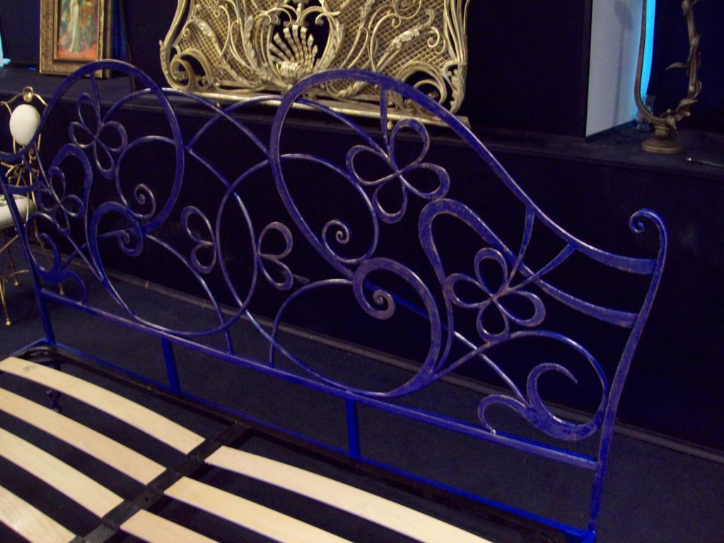 Кованая кровать ИК 045 5