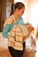 Детский слинг на кольцах Baby Breeze (0329)
