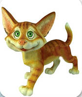 Садово-паркова фігура Кіт Ларік 40 см