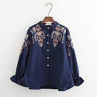 Стильная блузка, 2 цвета, фото 1
