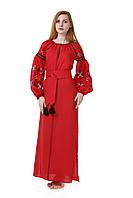 Женское вышитое платье, фото 1