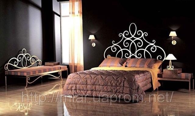 Кованая кровать ИК 312