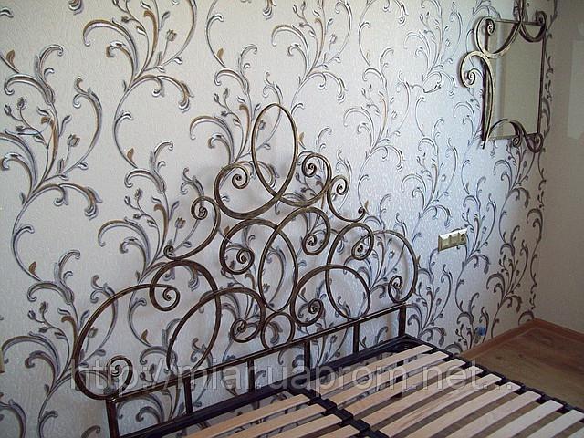 Кованая кровать ИК 312 2