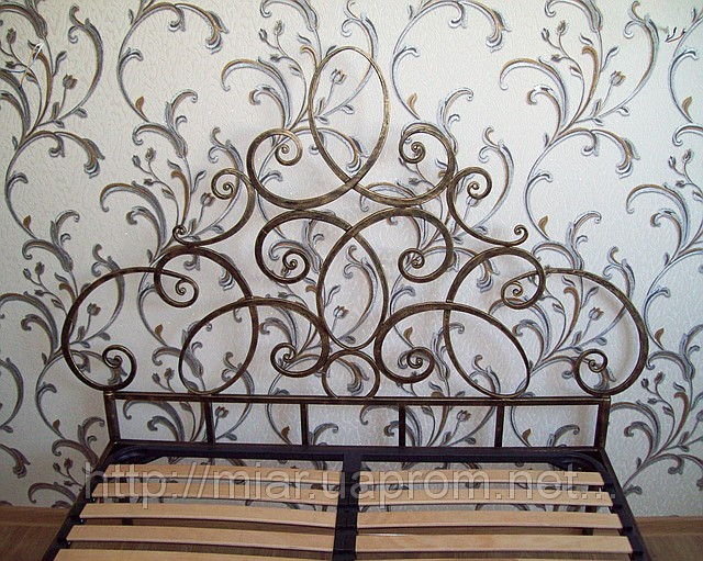 Кованая кровать ИК 312 3