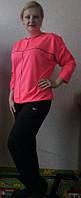 Спортивный женский костюм батал(50-62), доставка по Украине