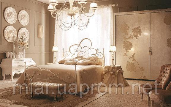 Кованая кровать ИК 333