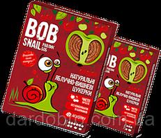 Натуральні яблучно-вишневі цукерки Snail Bob Равлик Боб, 60 г