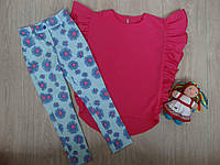 "Комплект ""Ромашки"" для девочки подростка, блузка и штанишки р.122-152"