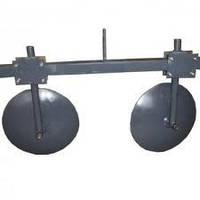Комплект окучников дисковых 390 мм с двойной сцепкой