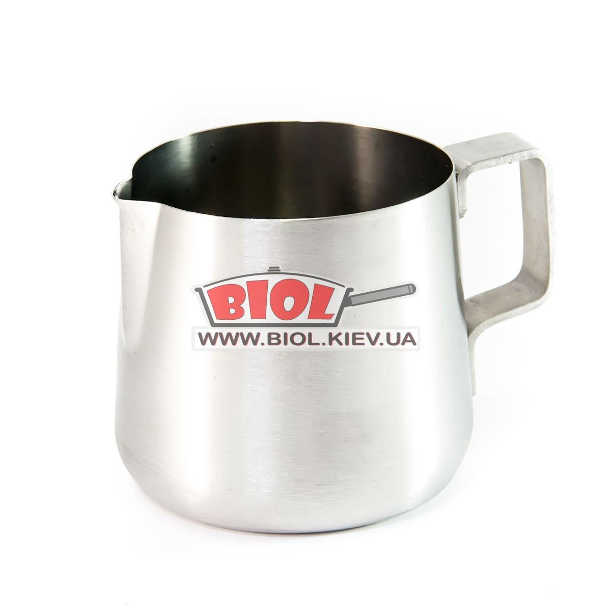 Питчер (джаг, молочник) 150мл для взбивания молока из нержавеющей стали - БИОЛ - интернет-магазин посуды в Киеве