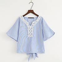 Летняя блуза в полоску, фото 1