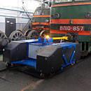 Маневровый тягач аккумуляторный (гибридный) E-MAXI