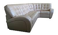 """Кожаный угловой диван """"Vincent"""" (Винцент). Индивидуальный размер, Американская раскладушка, натуральная кожа"""