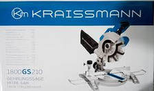 Торцовочная пила Kraissmann 1800 GS 210, фото 2