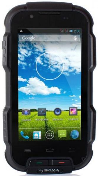 Sigma mobile X-treame PQ23 1/8 Gb black IP68