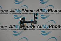 Шлейф для мобильного телефона Apple iPhone SE кнопки включения/ регулировки звука/ микрофона и вспышки