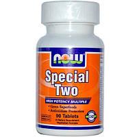 Купить витамины и минералы Now Foods Special Two, 120 caps