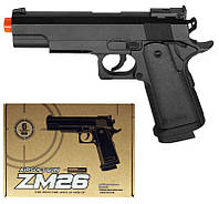 Пистолет металл-пластик ZM26 CYMA
