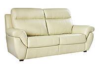 """Современный кожаный диван """"Midas"""" (Мидас) Трехместный (210 см), Американская раскладушка, ткань, Современный"""