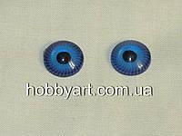 Глазки голубые