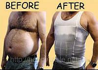 Мужская майка для похудения корректирующая талию