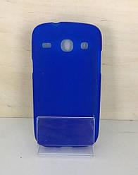 Силиконовый чехол для Samsung Galaxy Core GT-I8262/I8260 (Blue)