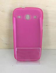 Силиконовый чехол для Samsung  Galaxy Core GT-I8262/I8260 (Pink)