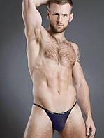 Мужские трусы стринги Doreanse Sexy 1330 темно-синие