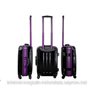 Пластиковый чемодан midi Monopol Odessa черный, фото 2