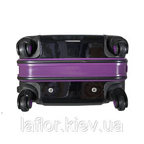 Пластиковый чемодан midi Monopol Odessa черный, фото 3