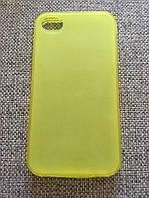 Стильный желтый силиконовый чехол iphone 4/4s