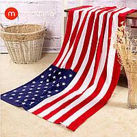 Пляжное полотенце Американский Флаг