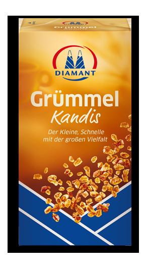 Сахар коричневый Diamant Grümmel Kandis леденцовый, 500г