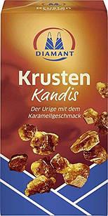 Сахар коричневый Diamant Krusten Kandis леденцовый, 500г
