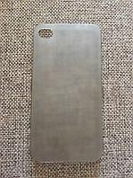 Защитный прозрачно-черный чехол-накладка iphone 4/4s, фото 1