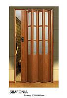 Двери-гармошки Вишня 2030х860 мм