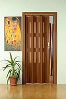 Двери-гармошки  Орех 2030х860 мм